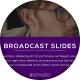 Broadcast Slides - VideoHive Item for Sale