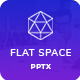 Flat Space - Creative Business Powerpoint Template - GraphicRiver Item for Sale