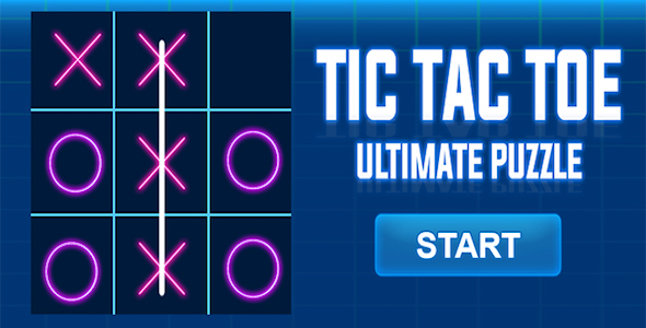 Tic Tac Toe Ultimate Puzzle + Admob + Android Studio            Nulled