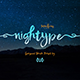 NEW I Nightype Script - GraphicRiver Item for Sale