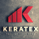 Keratex K Letter Logo
