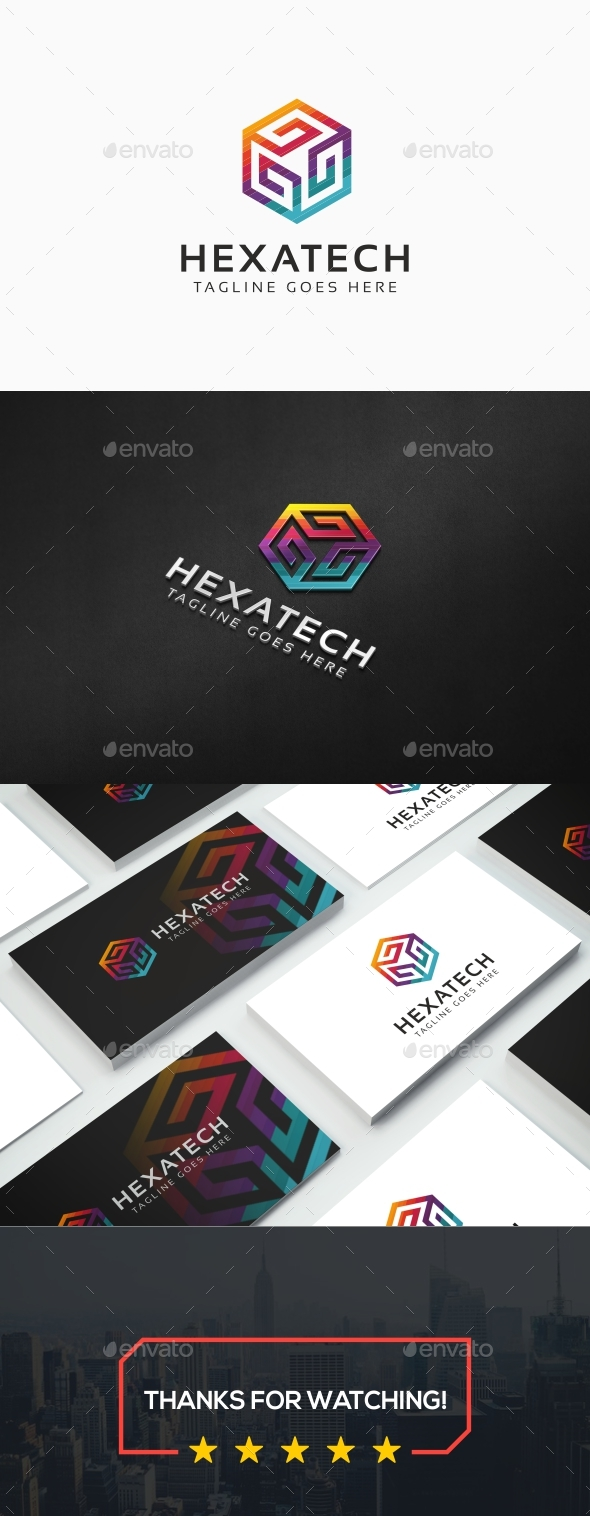Hexagon Logo - Symbols Logo Templates