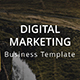 Digital Marketing - Business Google Slide Template - GraphicRiver Item for Sale