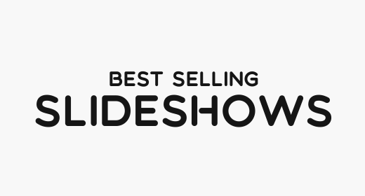 Best Selling Slidehows