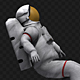 Astronaut In An Outer Space - VideoHive Item for Sale