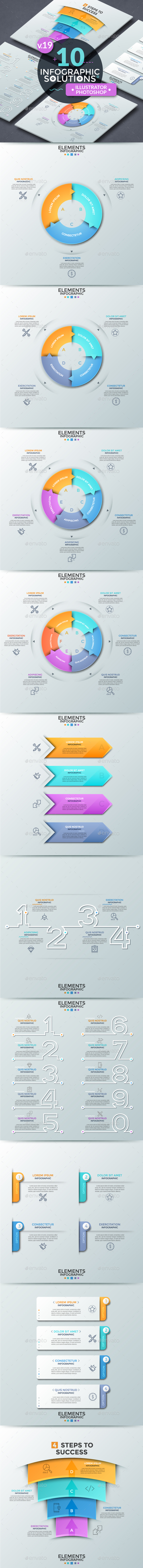Infographic Solutions. Part 19 - Infographics