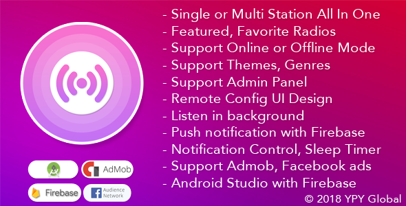 XRadio - Best Radio Template For Android            Nulled