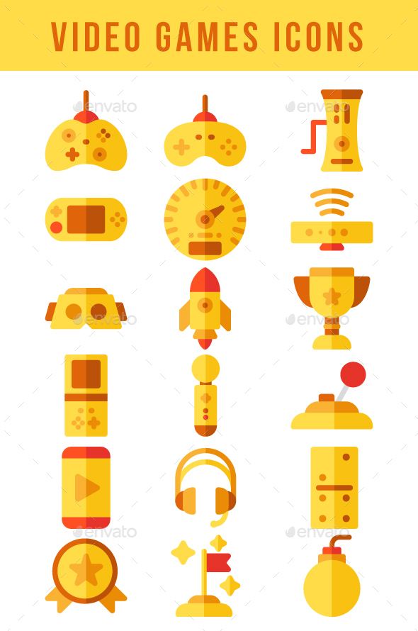 Video Games Icons - Icons