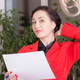 Business woman holding the document. - PhotoDune Item for Sale
