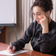 Business woman writing on a paper. - PhotoDune Item for Sale