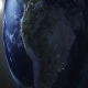 Earth Zooms In On South America - VideoHive Item for Sale