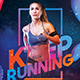 Keep Running Flyer - GraphicRiver Item for Sale