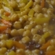 Stewed Vegetables in a Pan Cooking Vegetarian Dishes of Chickpeas. - VideoHive Item for Sale
