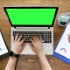 Typing on a Laptop with Green Screen - VideoHive Item for Sale