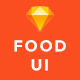 Foodd - Food UI KIT for Sketch - ThemeForest Item for Sale