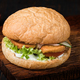 Burger on a wooden board - PhotoDune Item for Sale