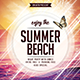Summer Flyer - GraphicRiver Item for Sale