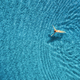 Aerial view of swimming woman in mediterranean sea - PhotoDune Item for Sale
