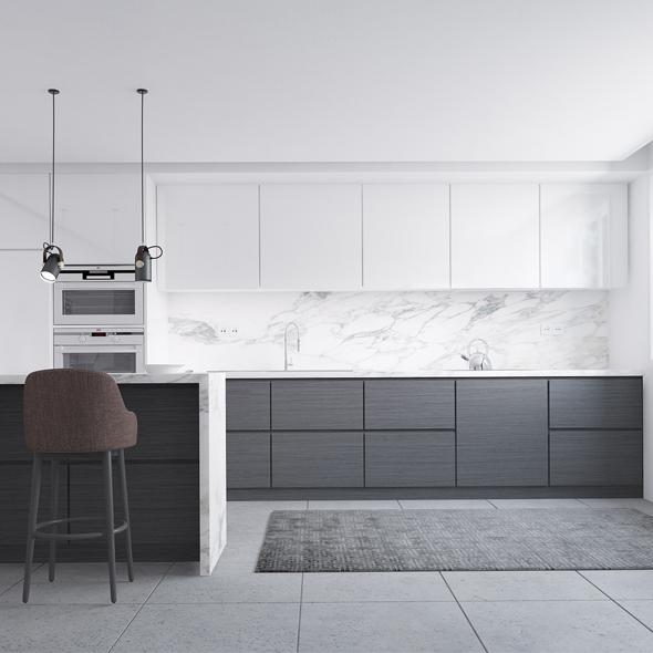 Kitchen- Viana - 3DOcean Item for Sale