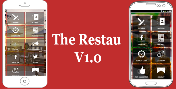 The Restau | Restaurant Apps Restaurant Owners - CodeCanyon Item for Sale
