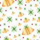 Christmas seamless pattern - 3DOcean Item for Sale