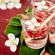 Strawberry detox water with jasmine flower. - PhotoDune Item for Sale