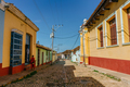 Colored houses on the streets of Trinidad