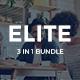 3 in 1 Elite Bundle Powerpoint Template