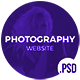 Rafoz Photography PSD - ThemeForest Item for Sale