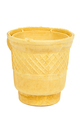 Empty waffle ice cream cup on white background - PhotoDune Item for Sale
