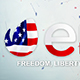 4th July Logo - VideoHive Item for Sale