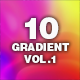 10 Gradient Background Vol.1 - VideoHive Item for Sale