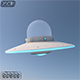Alien UFO 3D Model - 3DOcean Item for Sale