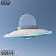 Alien UFO 3D Model
