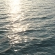 Aerial View on Water Waves at Sunset - VideoHive Item for Sale