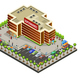 Isometric Supermarket Area Concept - GraphicRiver Item for Sale