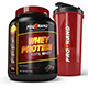 Protein Supplement Bottle and Shaker