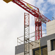 Building under construction. Crane machinery structure. Industry. Horizontal - PhotoDune Item for Sale