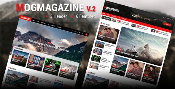 Mogtemplates - MogMagazine Template For Blogger V.2