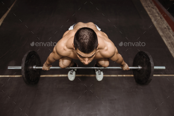 Weightlifting training - Stock Photo - Images