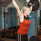 Female on weightlifting training - PhotoDune Item for Sale