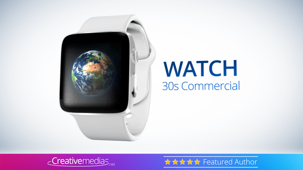 Watch S Commercial After Effects Template By CreativeMediasnet - After effects commercial template
