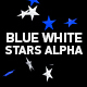 Blue White Stars - VideoHive Item for Sale