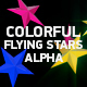 Colorful Flying Stars - VideoHive Item for Sale