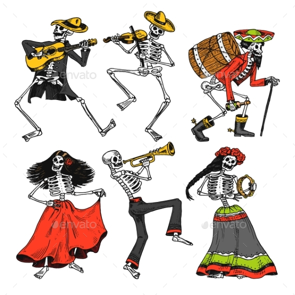 Day of the Dead - Miscellaneous Seasons/Holidays