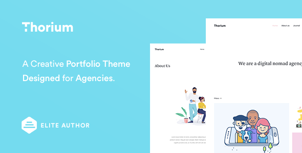 Thorium - Portfolio for Freelancers and Agencies - Portfolio Creative