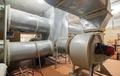 Big industrial air ventilation system