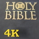 Closed Holy Bible with Sun Light - VideoHive Item for Sale