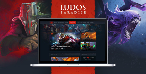 Image of Ludos Paradise | Gaming Blog & Clan WordPress Theme