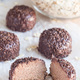 Swedish sweets Arrack balls, made from cookie crumbs, cocoa, but - PhotoDune Item for Sale